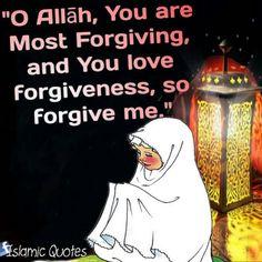 "#Dua for the Night of Decree: ""O Allāh, You are Most Forgiving, and You love forgiveness, so forgive me."""