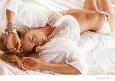 Cara Delevingne Stays in Bed for John Hardy photo