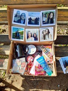 Box -Box Birthday gift box for best friend - Birthday Presents For Friends, 17th Birthday Gifts, Cute Birthday Gift, Birthday Gift Baskets, Unique Birthday Gifts, Birthday Box, Birthday Present Ideas For Best Friend, Birthday Crafts, Best Friend Birthday Basket