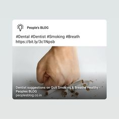 Smoking Facts, Smoking Kills, Smoking Causes Cancer, Breathe, Dental, Smoke, Thoughts, Healthy, Blog