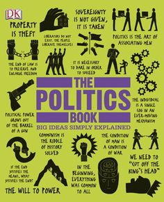 The Politics Book - Click here to reserve ... http://appalachian.nccardinal.org/eg/opac/record/2246495?query=9781465402141;qtype=id|isbn;locg=1
