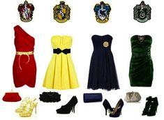 Harry Potter Themed Bridesmaid Dresses