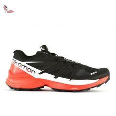 save off 40963 7fb4c Salomon L39195900, Chaussures de Randonnée Mixte Adulte, Noir  Amazon.fr  Chaussures  et Sacs