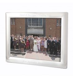 Landscape Silver Frame 10X8 | Photo Frames | Exclusively Personal