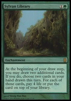 Sylvan Library - Commander's Arsenal