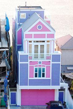 Ruth Handler's (the creator of the Barbie doll) house in Santa Monica Beach, California