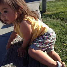 New #babyharemshorts by #lotusbabydesign #bloomers #clothdiaper #babyfashion #toddlerstyle #babywearing