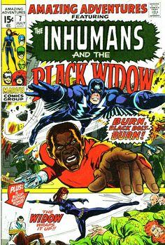 Amazing adventures inhumans comic