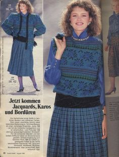 80s Fashion, Modest Fashion, Vintage Fashion, Fashion Through The Decades, Hippie Crochet, Sweater Dress Outfit, 80s Outfit, Dior, Wedding Dresses Plus Size
