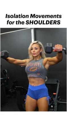 Shoulder And Leg Workout, Shoulder Workout Routine, All Body Workout, Gym Workout Videos, Fitness Motivation, Workout Plan For Women, Workout Pictures, Dumbbell Workout, Fit Board Workouts