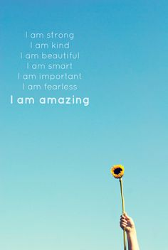 I am amazing affirmation