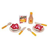 yumm! Strawberry Pancake set from Hape Toys!
