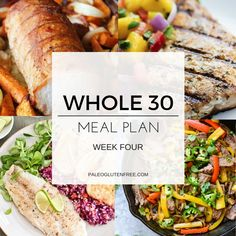 Find all the meals you could ever need in this all inclusive whole 30 meal plan! 30 days of breakfast, lunches, and dinner. Includes a printable menu.