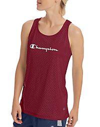 d0ed4825552008 Champion Women s Reversible Mesh To Jersey Tank Athletic Tank Tops