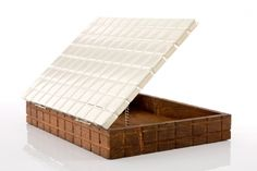 CUADRO BOX wood & alpaca silver airedelsur #etcmiami by Monica Kalpakian