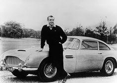 Aston Martin DB5 w/ Sean Connery