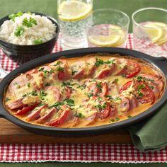 Swedish Recipes, New Recipes, Time To Eat, Fika, Sausage Recipes, Sugar And Spice, Lchf, Paella, Bacon