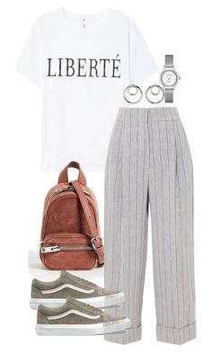 """Untitled #5220"" by theeuropeancloset ❤ liked on Polyvore featuring Brunello Cucinelli, Vans and Alexander Wang"