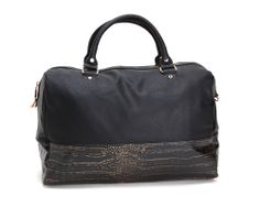 Deux Lux Essex Weekender in Black