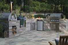 Todayu0027s Outdoor Chef Isnu0027t Happy With Just A Standard Grill. Modern Outdoor  Kitchen Design Quite Often Includes Multiple Cooking Surfaces U2014 Including  Gas ...