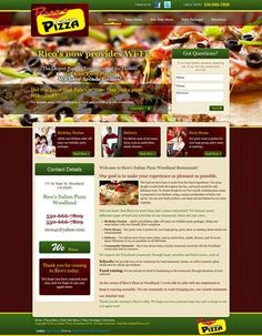 Craving for pizza? Check out Rico's Italian Pizza now for pizza delivery!  Visit their website today to see their great selection of pizzas and other food- http://www.ricositalianpizzawoodland.com/. This website is professionally created by Silver Connect Web Design, LLC!