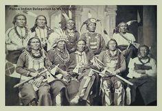 Ponca Indian Delegation