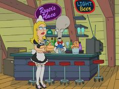 Roger's Place - American Dad! Wiki - Roger, Steve, Stan