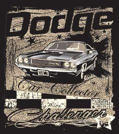 1970 - 1974 Dodge Challenger R/T Hemi T-Shirt