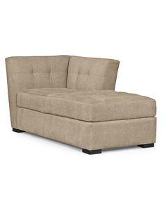 $500 Roxanne Fabric Chaise - Furniture Sale - Furniture - Macy's