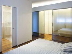 Des portes coulissantes vitrées - 15 portes coulissantes belles et fonctionnelles - CôtéMaison.fr