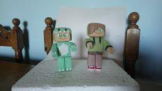 Minecraft Bebé Milo y Vita Porcelana Fría
