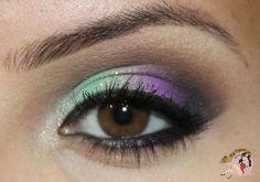 Tutorial Verde e roxo!  Vem ver!!!    http://nayfogaca.com/tutorial-verde-e-roxo/
