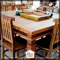 Linda mesa para você receber família e amigos em grande estilo. 😉   📍Av. Rondon Pacheco, 2025 | (34) 3238-6149 e (34) 99689-5926  📍Uberlândia Shopping | Loja 16 | (34) 98411-3789