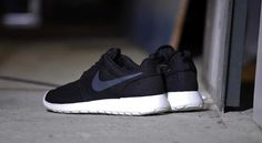 san francisco 8b56d d64bf Nike Roshe Run (511881-010) Black Anthracite USD30 On Sale solecollector