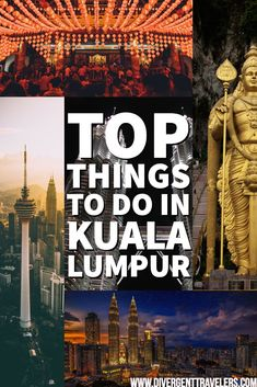 Top things to do in Kuala Lumpur - See theMalaysia's capital has to offer with our guide to see anddo in Kuala Lumpur. Malaysia Travel, Singapore Travel, Asia Travel, Amazing Destinations, Travel Destinations, Travel Guides, Travel Info, Travel Tips, Kuala Lumpur
