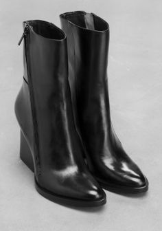 & Other Stories | Leather Ankle Boots