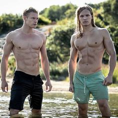 Photo © FRANZ FLEISSNER https://www.facebook.com/pages/Franz-Fleissner-Photography/325479867497608 # hot Swedish blond male fitness model six pack abs muscle