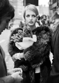 Twiggy in London, photographed by Terence Donovan, 1967.