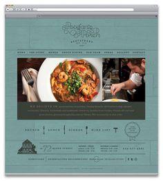 Website design — Poogan's Porch