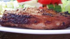Combining Indian and Asian ingredients, these are some of the best pork chops we've eaten!