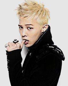 Big Bang G-Dragon Blonde Medium Messy Up
