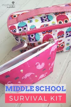 DIY Middle School Survival Kit For Teens