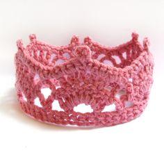 Crochet Baby Crown -Crochet Crown Pattern- Crochet Tiara Patter