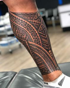 Mann vorlagen tattoo waden Waden Tattoo