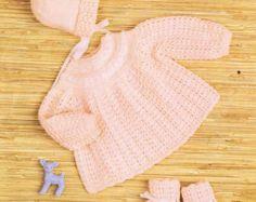 knitting patterns baby – Etsy