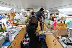 double decker bus kitchen - Google Search