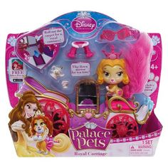 Disney Princess Palace Pets Belle's Puppy Teacup Carriage