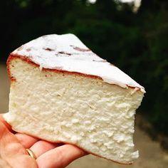 un merveilleux gâteau au fromage blanc #cheesecakejaponais #.