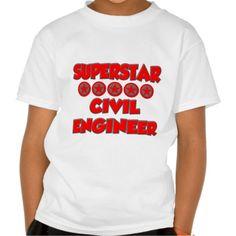 Superstar Civil Engineer T Shirt, Hoodie Sweatshirt