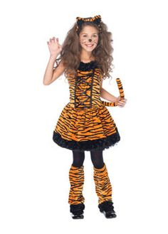 cute tiger costume for girls